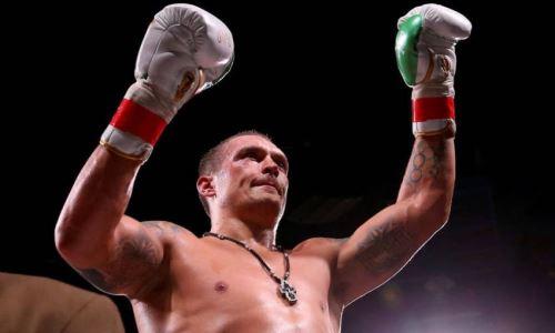 Стало известно, почему Усику предложили бой с экс-боксером «Astana Arlans»