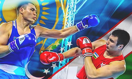 Казахстан vs. Узбекистан. Азиатские звездные войны: кто сильнее в боксе перед Олимпиадой?