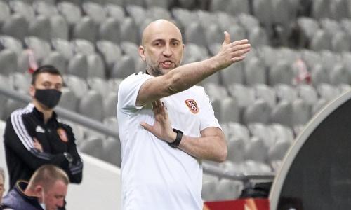 «На ровном месте был назначен пенальти». Наставник «Шахтера» оценил матч с «Тураном»