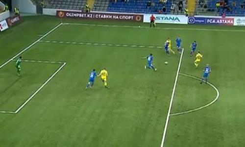 Видеообзор матча Премьер-Лиги «Астана» — «Жетысу» 1:0