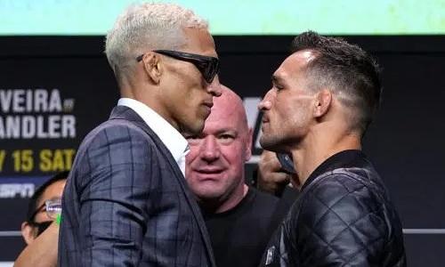 Прямая трансляция турнира UFC 262 с титульным боем Оливейра — Чендлер