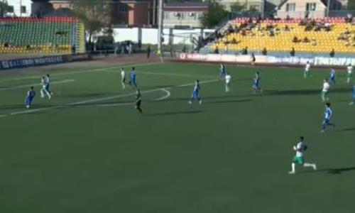 Видео гола Бруно матча Премьер-Лиги «Атырау» — «Тараз»