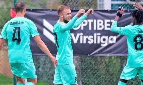 Казахстанский футболист забил дебютный гол за европейский клуб. Видео
