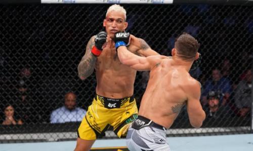 Чарльз Оливейра — Майкл Чендлер: видео полного боя на UFC 262 в формате HD