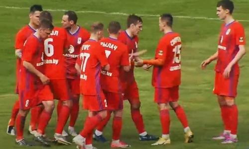 Играющий вЕвропе футболист сборной Казахстана оформил гол плюс пас задве минуты. Видео