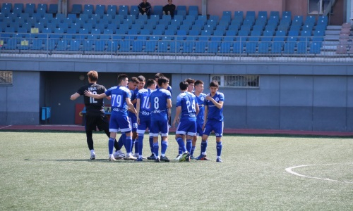 «Окжетпес» забил шесть безответных мячей в матче Первой лиги
