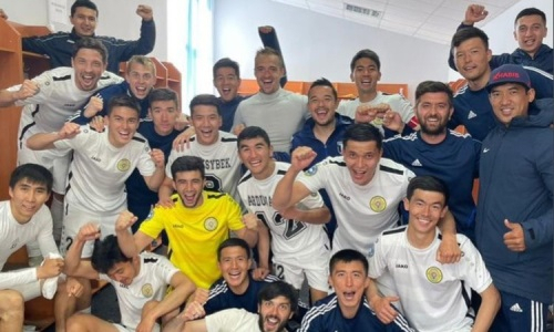 «Кыран» уверенно справился с фарм-клубом «Кайрата» в матче Первой лиги