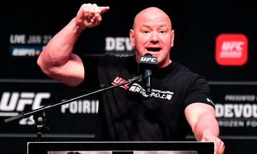 Как президент UFC лично поздравил казахстанского файтера с завоеванием титула чемпиона. Видео