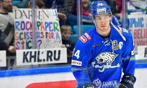 «Нужно признаться, у нас не получилось». Капитан «Барыса» подвел итоги сезона КХЛ и остался недоволен