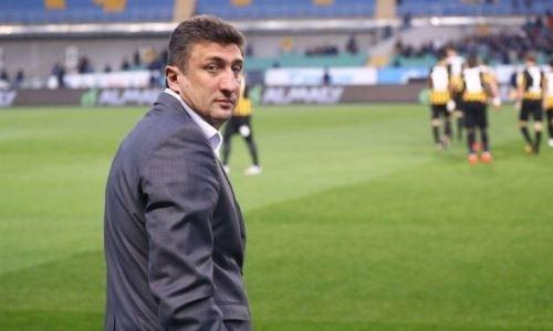 Кахабер Цхададзе после «Ордабасы» может принять команду в Европе. Первый контакт тренера с клубом уже состоялся
