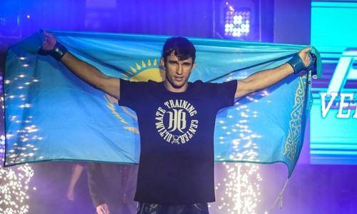 «Пытался спастись, но боя уже не было». В России отметили, как казахстанец «уничтожил» экс-бойца UFC и завоевал пояс