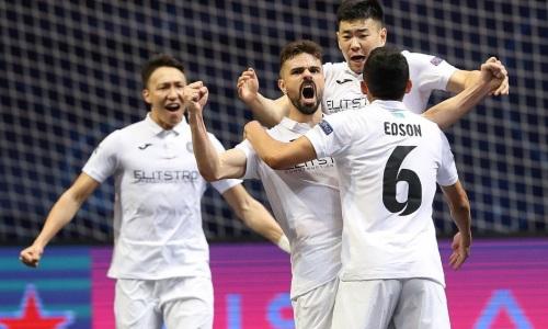 Гол игрока «Кайрата» попал в четверку лучших мячей финальной стадии Лиги Чемпионов