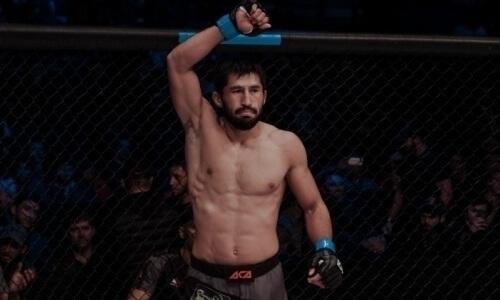 Арман Оспанов начал подготовку к дебюту в PFL и провел тренировку с чемпионом UFC. Фото