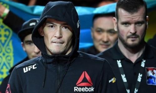 Во сколько начнутся бои казахов Исмагулова и Нурданбека на UFC 188
