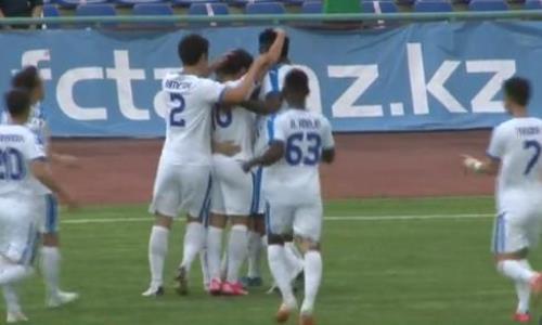 Видео гола Эуженио матча Премьер-Лиги «Тараз» — «Жетысу»