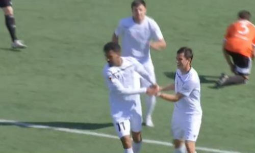Видео гола Сали матча Премьер-Лиги «Каспий» — «Шахтер»