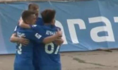 Видео гола Дмитриева матча Премьер-Лиги «Тараз» — «Жетысу»