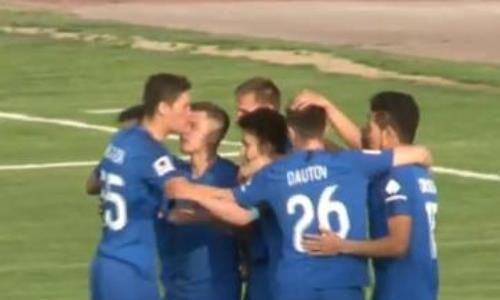 Видео автогола Шаихова матча Премьер-Лиги «Тараз» — «Жетысу»
