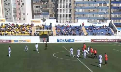 Видеообзор матча Премьер-Лиги «Каспий» — «Шахтер» 3:0