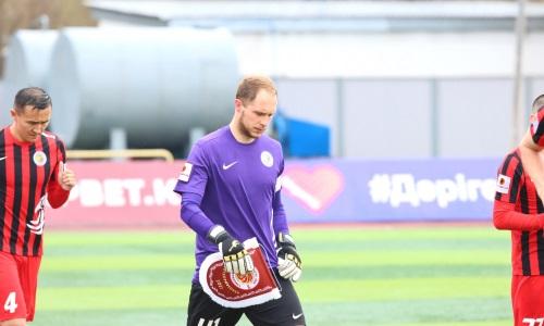 «С моей стороны были выкрики от радости». Вратарь «Кызыл-Жара СК» высказался о его удалении в матче с «Тоболом»