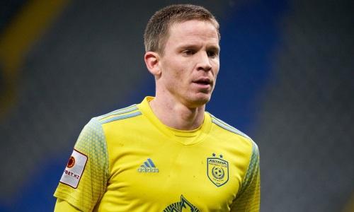 Марин Томасов сыграл юбилейный матч за «Астану» в КПЛ