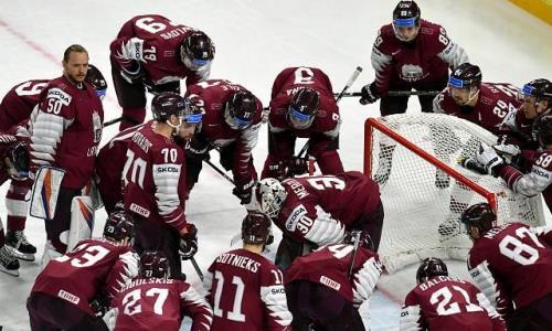 Стал известен состав звеньев сборной Латвии перед матчами с Канадой и Казахстаном на ЧМ-2021