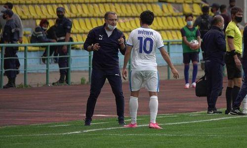 «Футбол такие вещи не прощает». Минасян объяснил домашнее поражение «Тараза» в матче с «Жетысу»