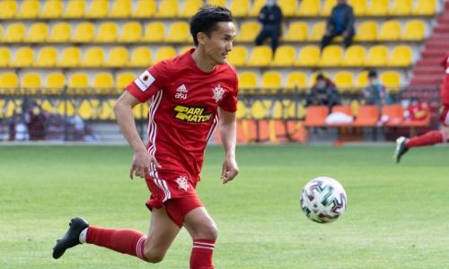 Казахстанский защитник «Актобе» пропустит матч КПЛ с «Тураном»