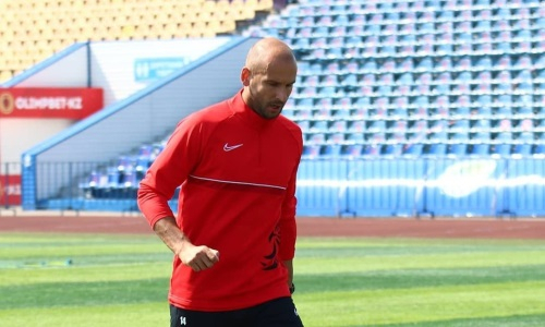 Сербский нападающий «Кызыл-Жара СК» стал дебютантом Премьер-Лиги