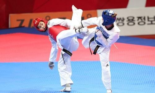 Казахстанская таеквондистка уступила в борьбе за олимпийскую лицензию на Азиатском континентальном отборочном турнире