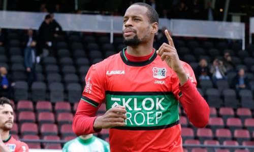 Арендованный у «Астаны» футболист сделал гол плюс пас и приблизился к выходу в высший дивизион Нидерландов. Видео