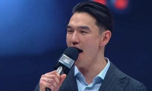 Нурлан Сабуров стал ринг-анонсером на вечере бокса Басты. Видео