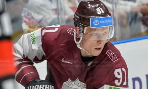 Форвард сборной Латвии раскрыл секрет победы над Канадой перед Казахстаном