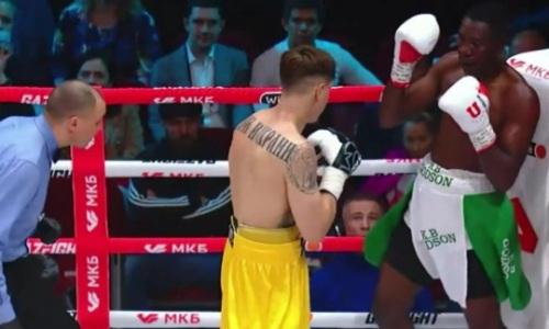 Дравшийся с казахстанским чемпионом мира боксер нокаутирован непобежденным россиянином