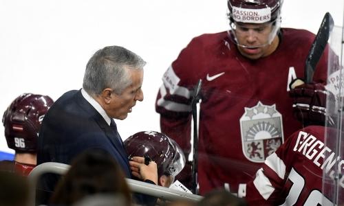 Боб Хартли поставил цель для сборной Латвии перед матчем с Казахстаном на ЧМ-2021
