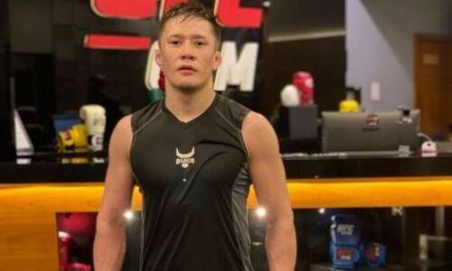 Жалгас Жумагулов прибыл в США для прохождения тренировочного лагеря перед поединком в UFC. Фото