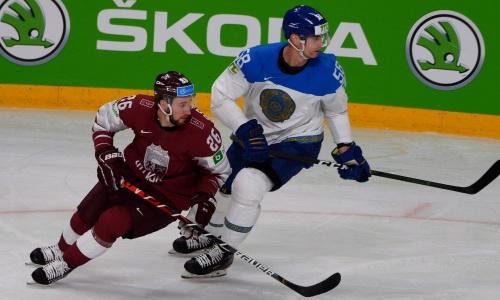 Как сборная Казахстана дважды отыгралась и победила Латвию на старте чемпионата мира-2021. Видео