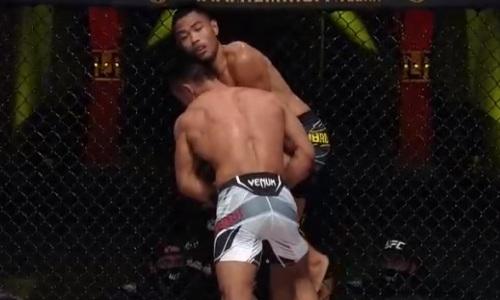 Видео боя, или Как казах Сайран Нурданбек дебютировал в UFC