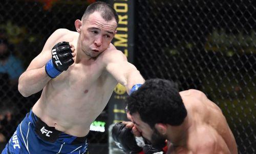 Видео полного боя Исмагулов — Алвес с ранним нокдауном казаха и наказанием дерзкого бразильца в UFC
