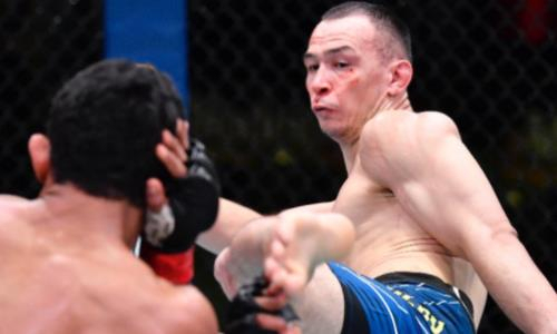 «Я каждый день сражался». Дамир Исмагулов выступил с обращением после четвертой победы в UFC