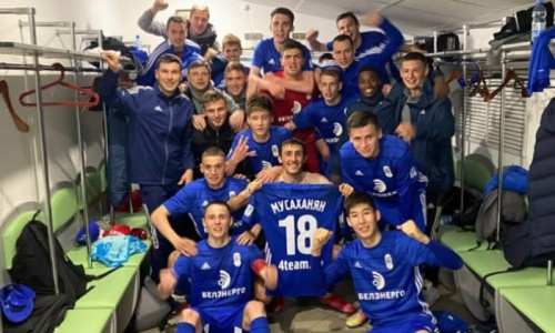 20-летний казахстанец дебютным голом принес победу европейскому клубу в чемпионате
