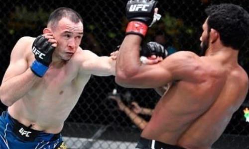 «Едва не сотворил сенсацию на первых секундах». Исмагулову указали на неприятные моменты его возвращения в UFC