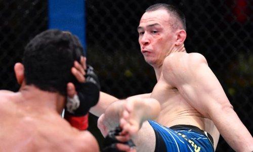 «Подобной статистикой могли похвастаться единицы». Комментатор «Матч ТВ» разобрал четвертую подряд победу Дамира Исмагулова в UFC