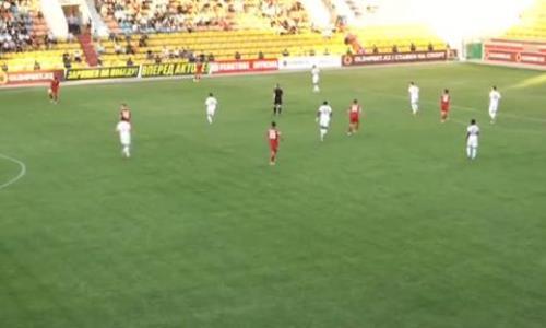 Видео гола Максымхана матча Премьер-Лиги «Актобе» — «Туран»
