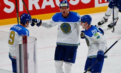 Сборная Казахстана победила действующих чемпионов мира по хоккею