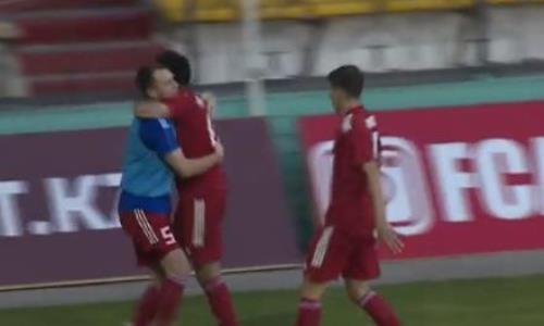 Видео гола Нусербаева матча Премьер-Лиги «Актобе» — «Туран»