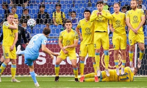 И снова о фарте. «Астана» сыграла вничью с «Кайратом» в домашнем матче КПЛ