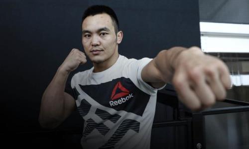 Казахский боец рискует вылететь из UFC после первого поражения