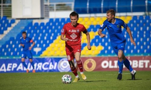 Думан Нарзилдаев вошел в ТОП-8 рекордсменов «Кайсара» в Премьер-Лиге