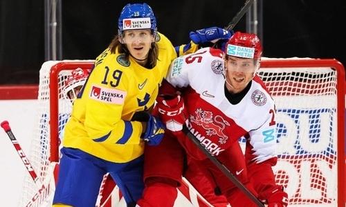 Сборная Дании побила исторический антирекорд чемпионатов мира на турнире в Латвии с участием Казахстана